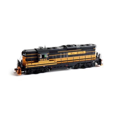 Athearn G64053 HO Denver and Rio Grande Western GP9 #5943