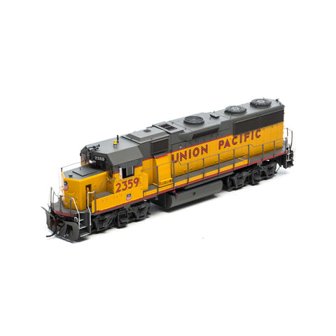 Athearn G64621 HO Union Pacific GP39-2 Phase III Diesel Locomotive with DCC and Sound #2359