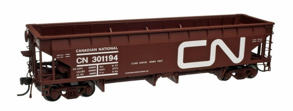 Atlas 20002822 HO Canadian National  70-Ton Hart Ballast Cars (Pack of 3)