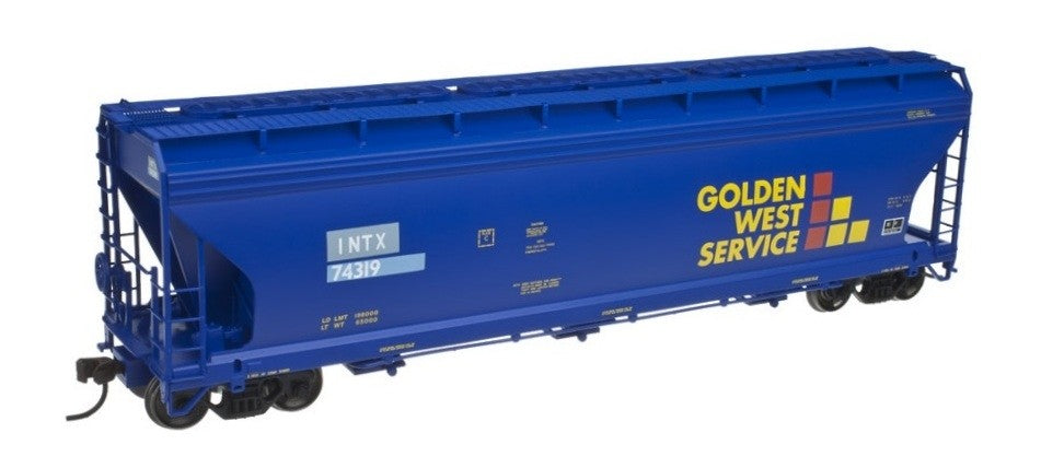 Atlas 20002851 HO Scale  Golden West Service ACF 4650 Centerflow Hopper #74167