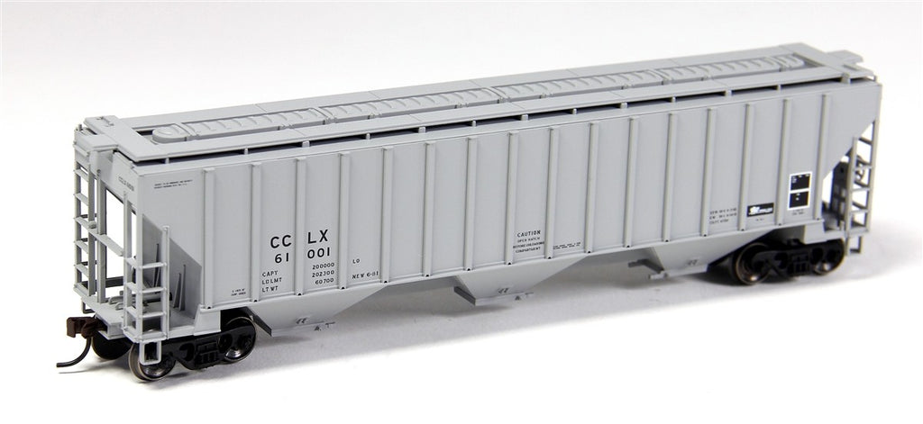 Atlas 20002884 HO Crystal Car Line Thrall 4750 Covered Hopper #61010