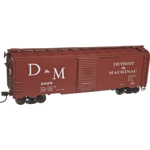 Atlas 21000053 HO Detroit and Mackinac  40' Box Car Kit #2928