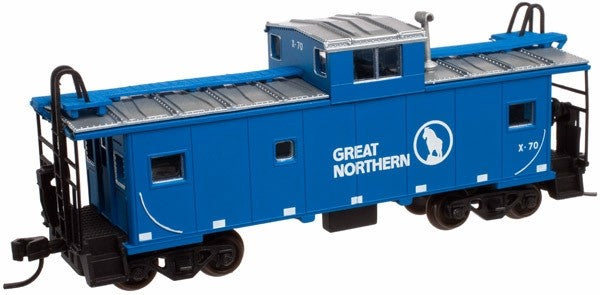 50000977 N Scale Great Northern Standard Cupola Caboose #X-70
