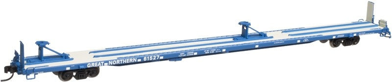 "Atlas 50001734 N Great Northern 89' 4"" Flat Car #61525"