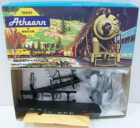 Athearn 1355 HO Nickel Plate Road 40' Flat with Plane Kit