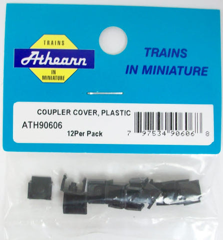 Athearn 90606 HO Plastic Coupler Cover (12)