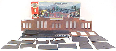 Heljan B802 HO Steam Locomotive Roundhouse Building Kit