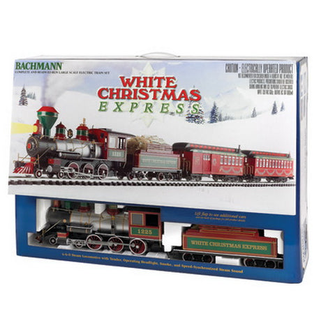 Bachmann 90076 G White Christmas Express Train Set