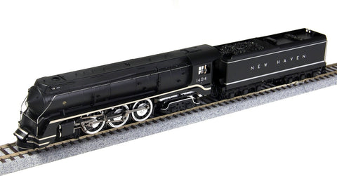 Broadway Limited 1622 HO New Haven Class I-5 4-6-4 Hudson Brass Hybrid #1404