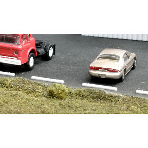 BLMA Models 4108 Concrete Car Parking Stops (Pack of 20)