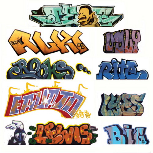 Blair Line 1245 N Graffiti Decals Mega Set #2 (9)