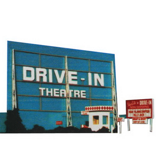 Blair Line 168 HO Drive-In Theatre Laser-Cut Building Kit