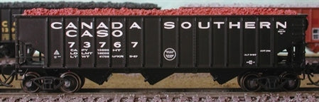 Bluford Shops 14412 N Canada Southern 14-Panel 3-Bay Hopper (2)