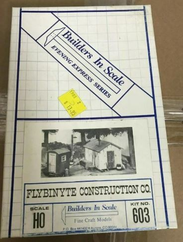 Builders-in-Scale 603 HO Scale Flybinyte Construction Co. Kit