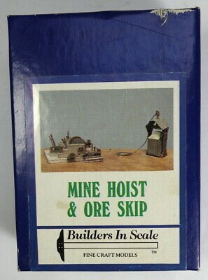Builders-in-Scale 609 HO Mine Hoist and Ore Skip Building Kit