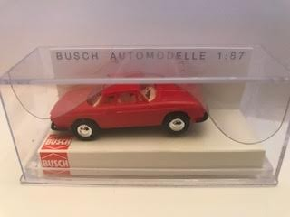 Busch 45811 HO Karmann Ghia 1600LX Model Car