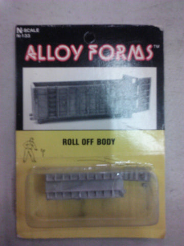 Alloy Forms 133 N Roll Off Body Unpainted Kit
