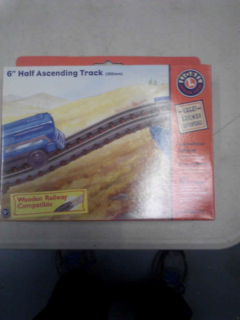 "Learning Curve 92721 - Lionel 6"" Half Ascending Track (150mm)"