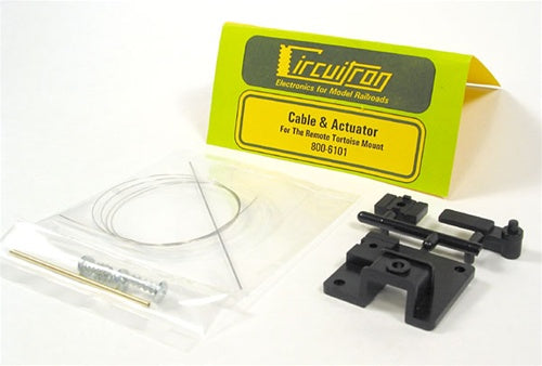 Circuitron 800-6101 Tortoise Remote Mount Cable & Actuator