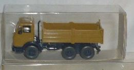 Wiking 6730118 HO Man Flat Tipper Truck