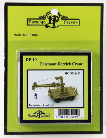 Durango Press 10 HO Fairmont Derrick Crane Kit