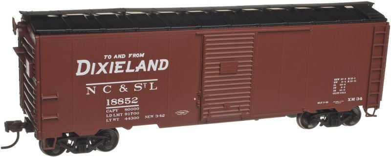 Atlas 21000057 HO Nashville, Chattanooga & St. Louis 40' Box Car #18804