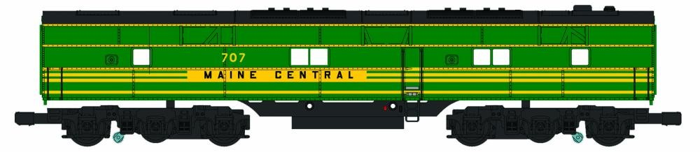 Williams 20609 O Maine Central E7 B-Unit Dummy 3-Rail Diesel Locomotive