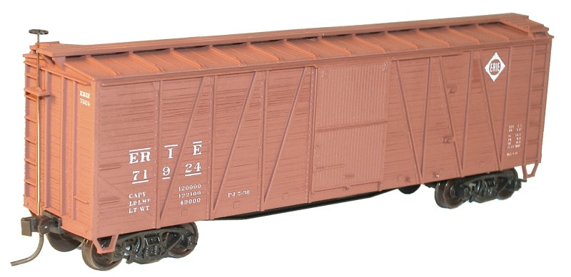 Accurail 4116 HO Erie 40' Outside Braced Wood Boxcar