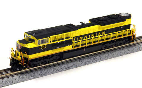 Fox Valley Models 71155 N Virginian EMD SD70ACE Diesel Locomotive #1069