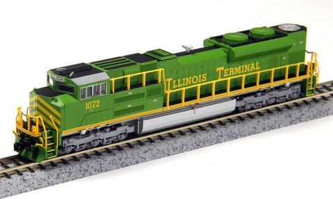 Fox Valley Models 71158 N Illinois Terminal SD70ACE Diesel Locomotive #1072
