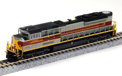 Fox Valley Models 71160 N Lackawanna EMD SD70ACE Diesel Loco Standard DC #1074