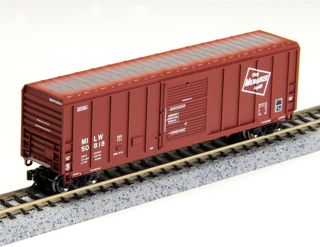 Fox Valley Models 81067  N  Milwaukee Road PS5344 Box Car #50852