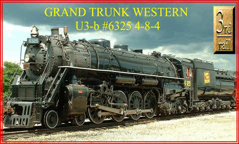 3rd Rail 3RGTWU3 Sunset Modl U3 4-8-4 Locomotive