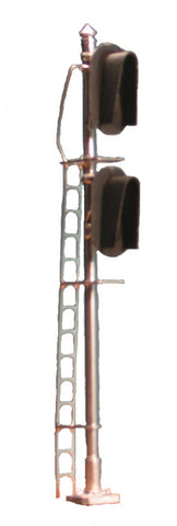 Tomar 8661 HO Double Head 3 Light Vertical with Snow Hood