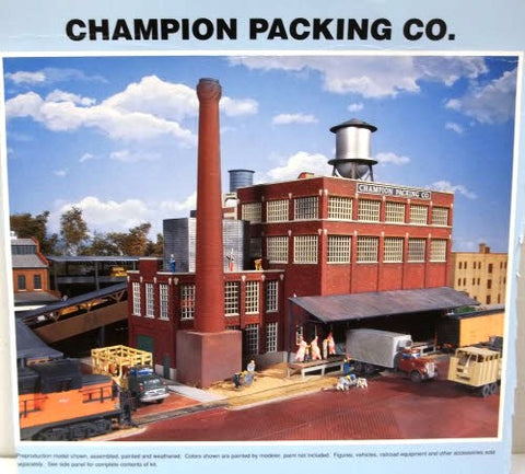 Walthers 933-3048 HO Champion Packing Plant Kit