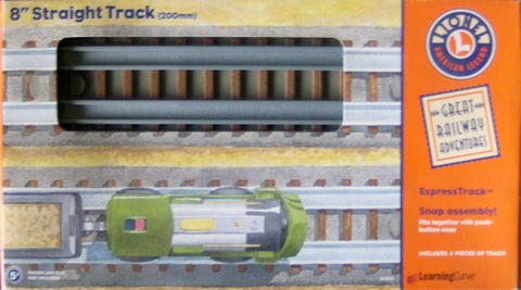 "Learning Curve 92703 - Lionel 8"" Straight Track (200mm)"