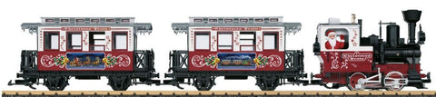 LGB 72304 G Christmas Passenger Train Set