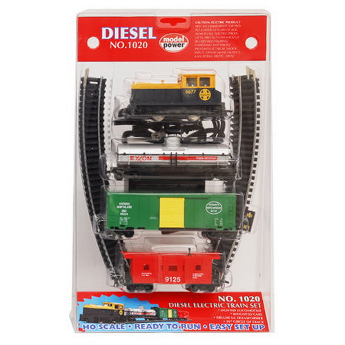 Model Power 10200 HO RTR DIESEL TRAIN SET, SF – Trainz
