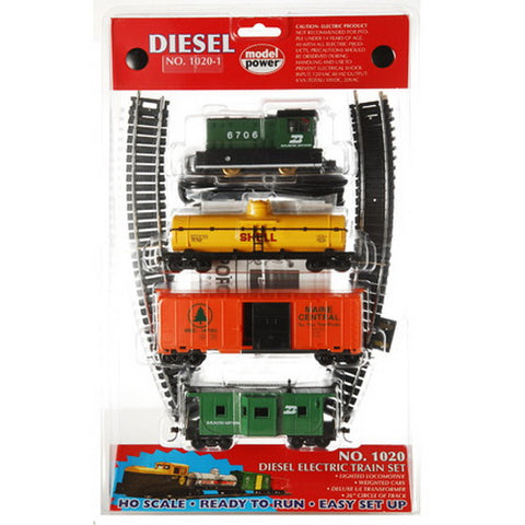 Model Power 10201 HO RTR Diesel Train Set, BN