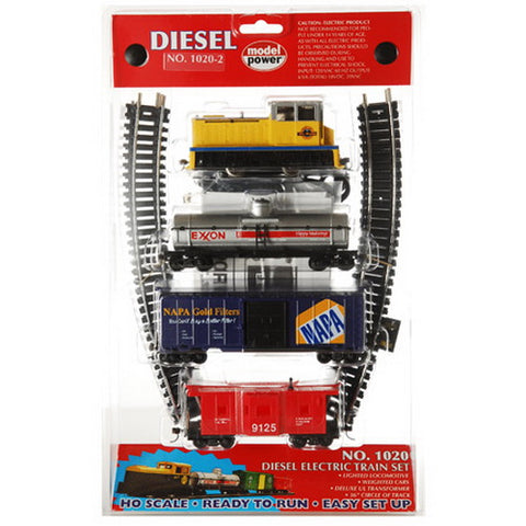 Model Power 10202 HO RTR Diesel Train Set, D&RGW