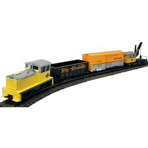 Model Power 1026 DRGW Bumble Bee Train Set