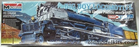 Monogram 1600 HO Big Boy Locomotive With Union Pacific Markings Building Kit