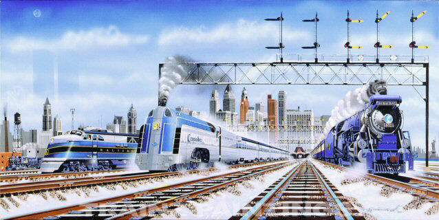 JC 'New York's Finest' Train Art Print - S&N