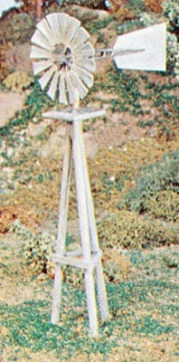 Campbell Scale Models 1604 HO Plastic Windmill