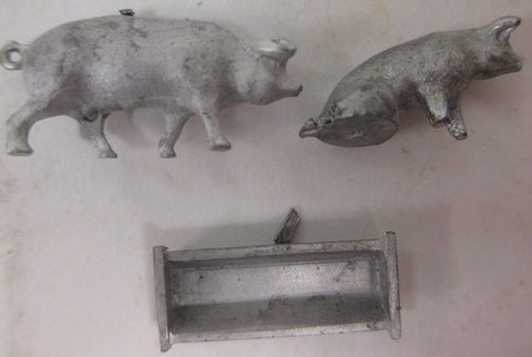 Selley Finishing Touches 675-010278 HO Scale Pigs & Trough Set