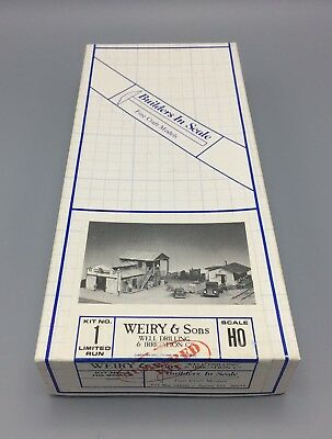 Builders-in-Scale 1 HO Scale Weiry & Sons Well Drilling & Irrigation Company Kit