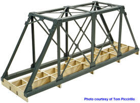 1035 On30 Truss Bridge Deck Building Kit