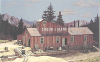 "Builders-in-Scale 6 HO Scale ""The Coeur D'Alene"" Building Kit"
