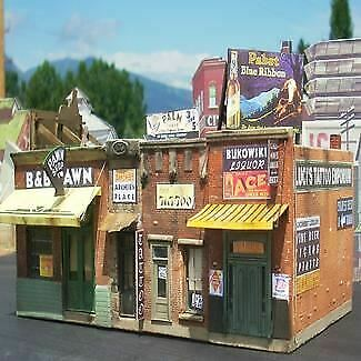 Downtown Deco 1000 HO Addams Street Part 1 Limited Edition Building Kit