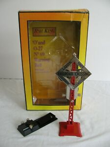 MTH RK-1036 O Scale No 69N Warning Bell Train Signal
